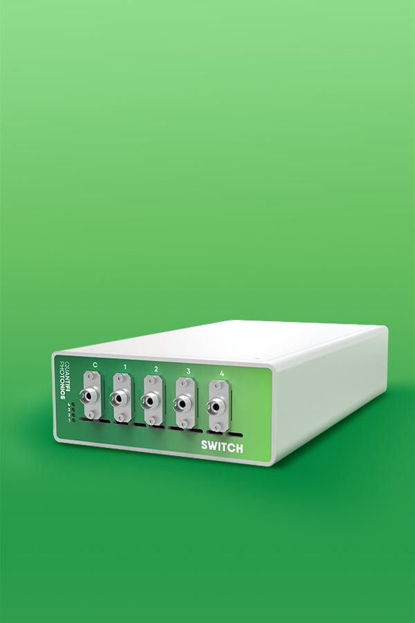 Quantifi Photonics benchtop automated optical switch