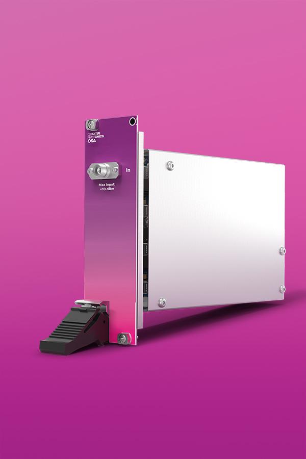 Quantifi Photonics PXI optical spectrum analyzer